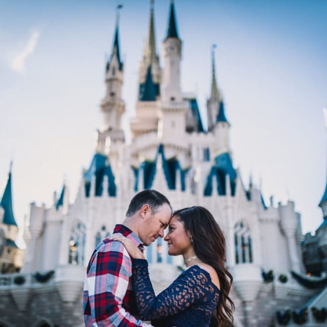 Disney Engagement photos