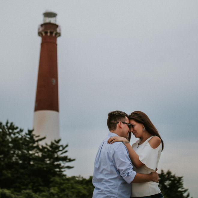 Barn agate Lighthouse Engagement photos