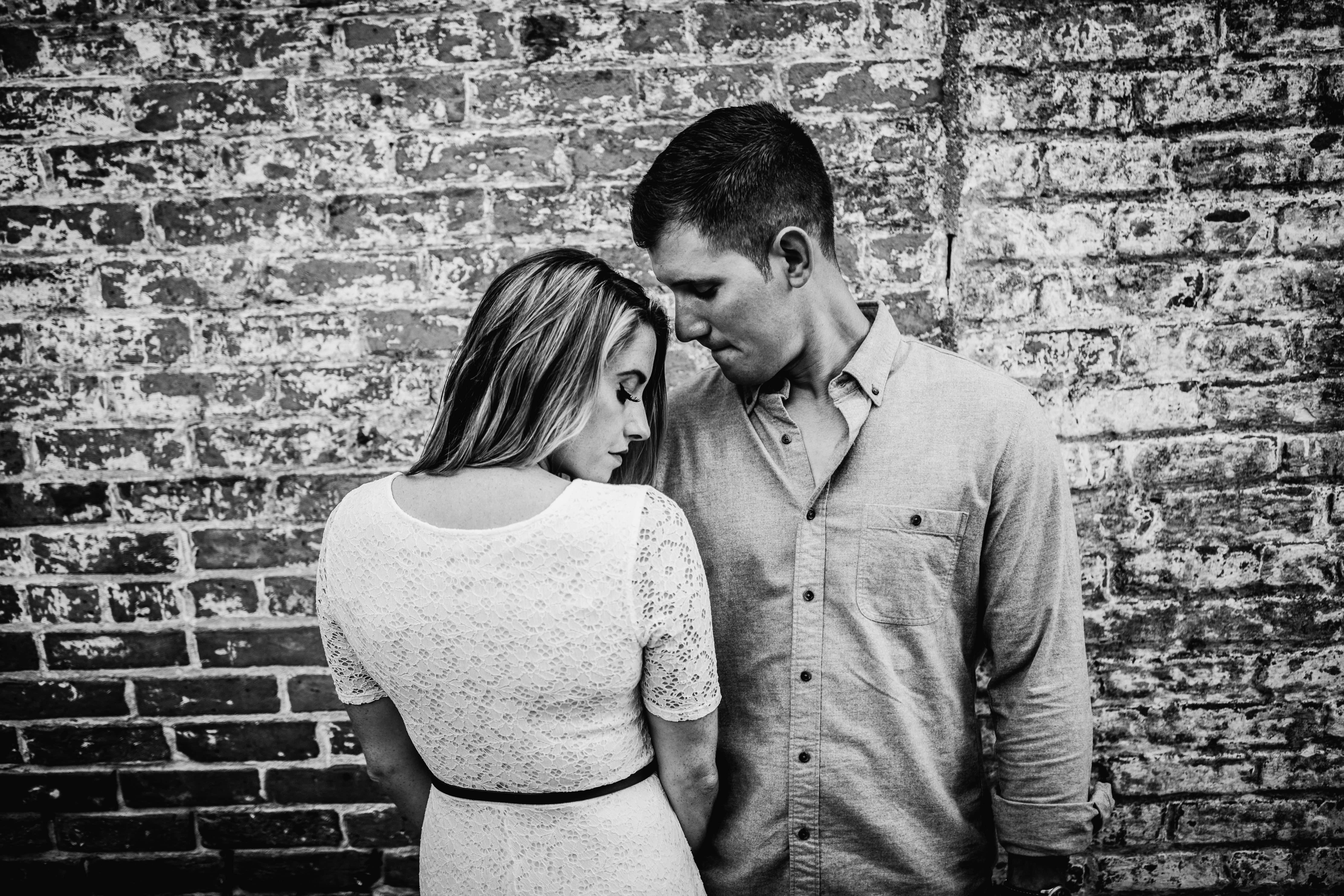 couple engagement session at batsto village in wharton state forest