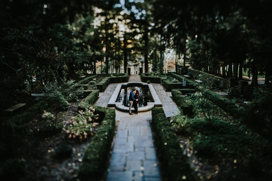 Hunting Hill Mansion engagement photos