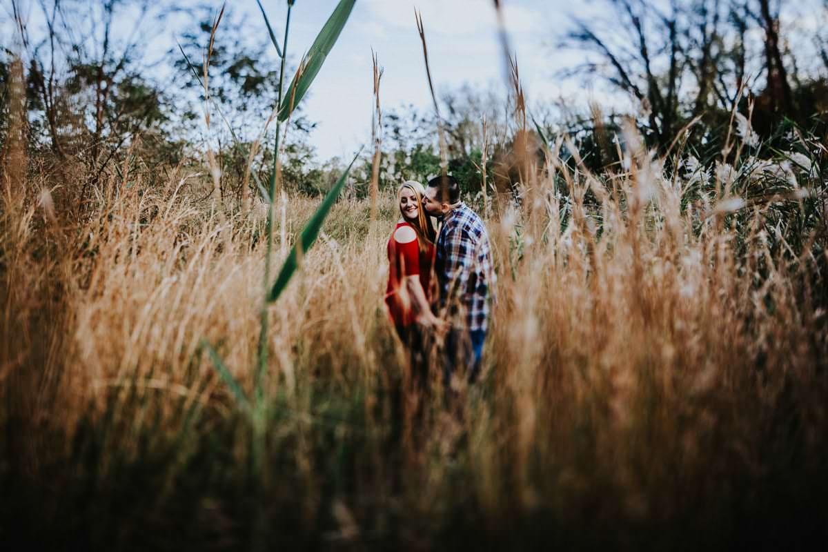 palmyra nature cove engagement photos