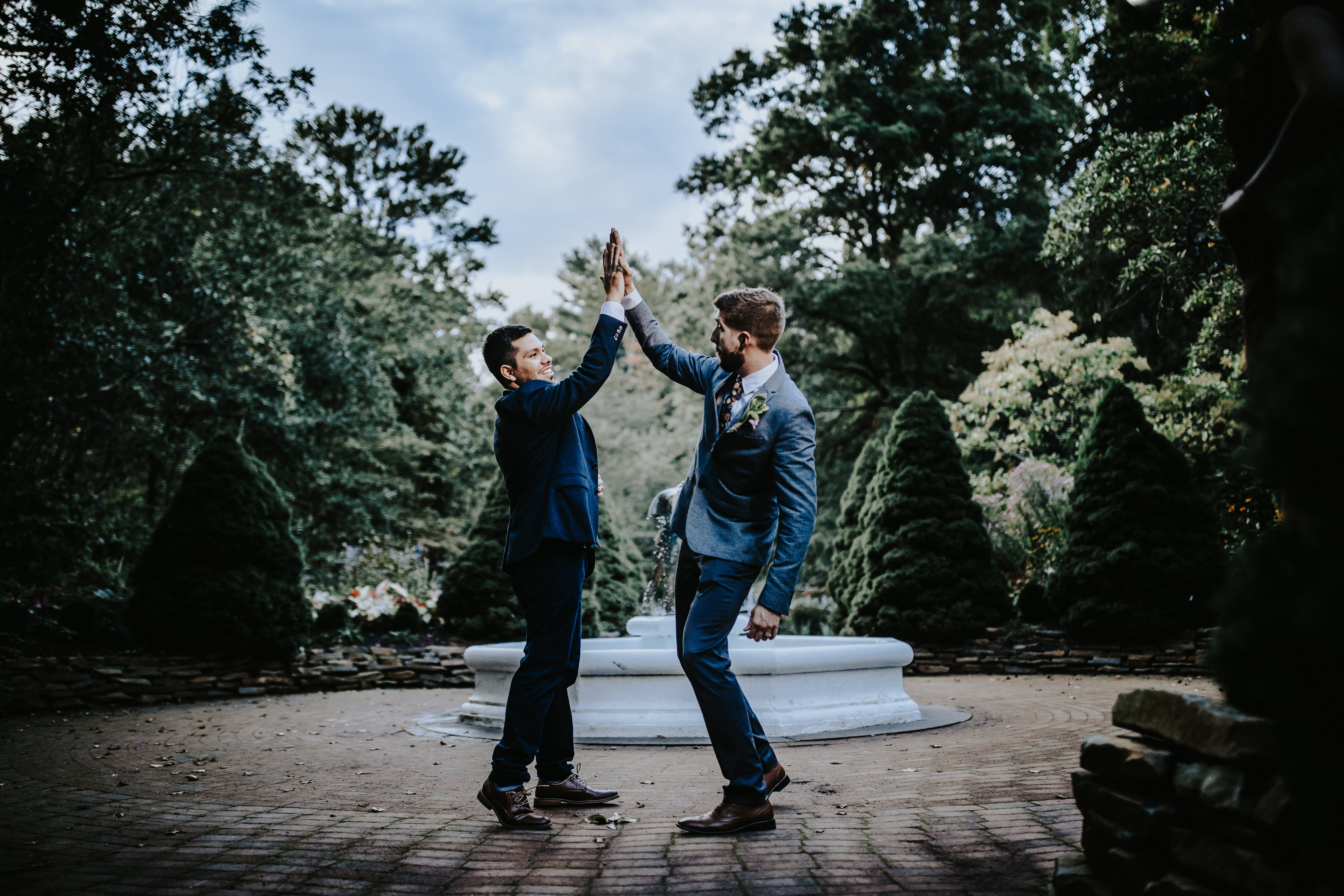 sayen gardens wedding photos