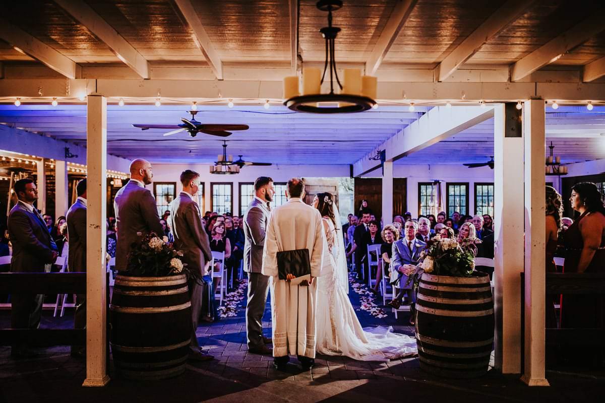 Hamilton manor ceremony photos