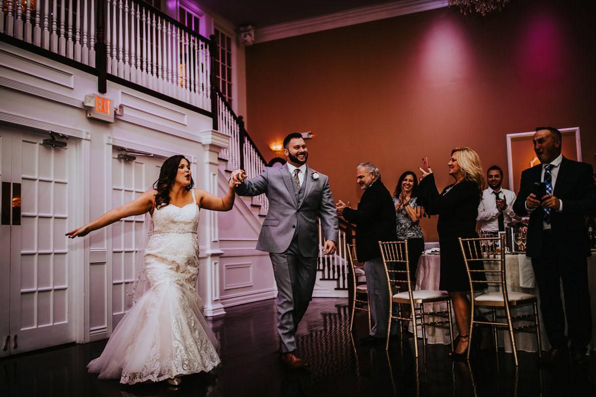 Hamilton manor reception photos