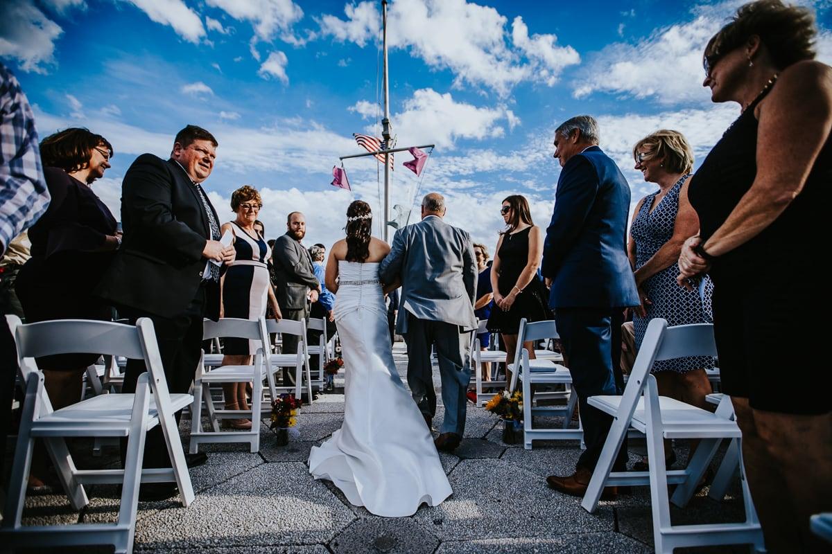ceremony along the delaware