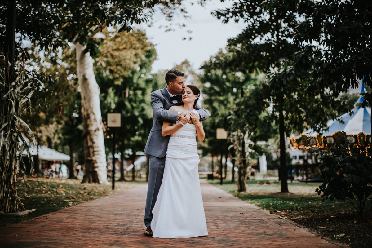 wedding photos in Franklin square