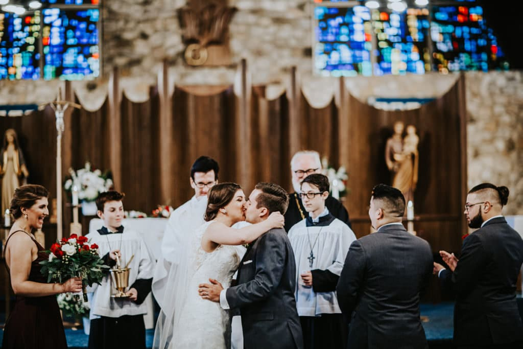 st. Mary of the lakes wedding