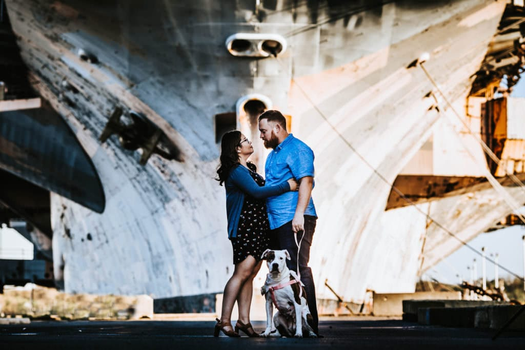 Philadelphia Navy Yard Engagement Photo