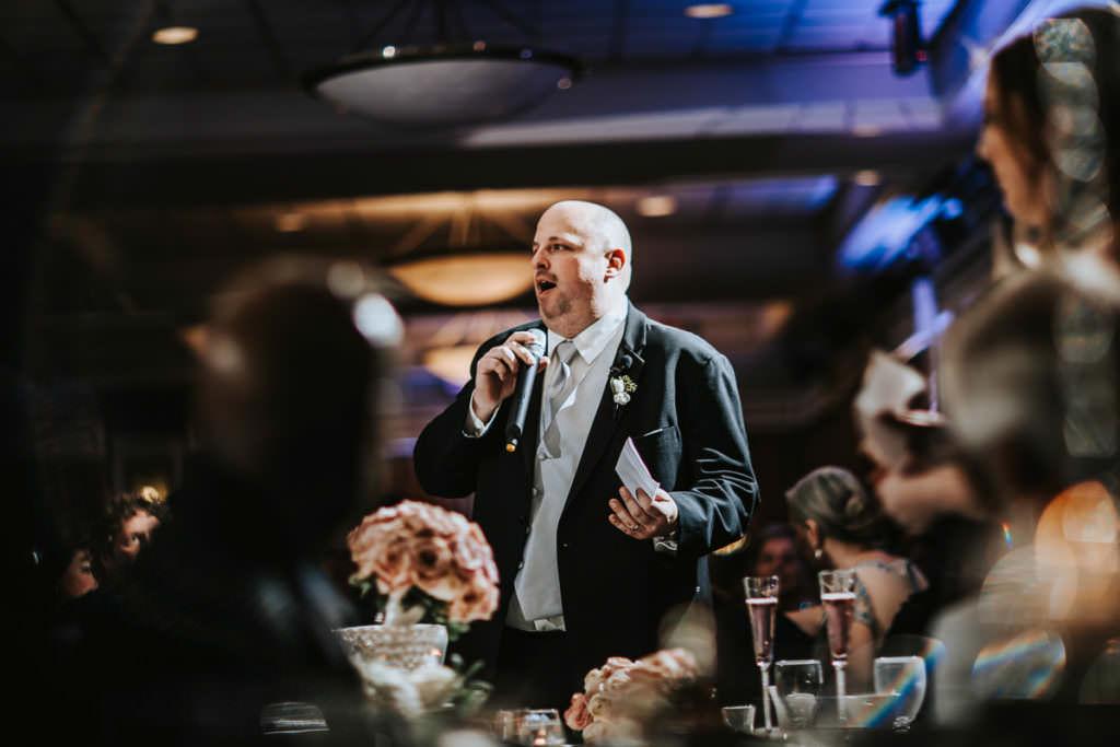 Scotland run wedding reception photos