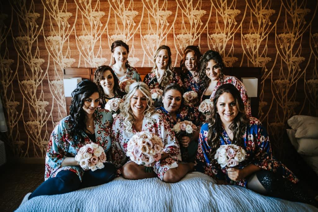 Scotland run wedding photos