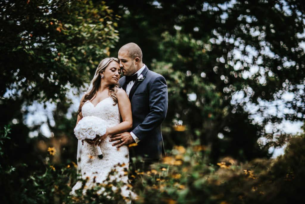 sayen garden wedding photos