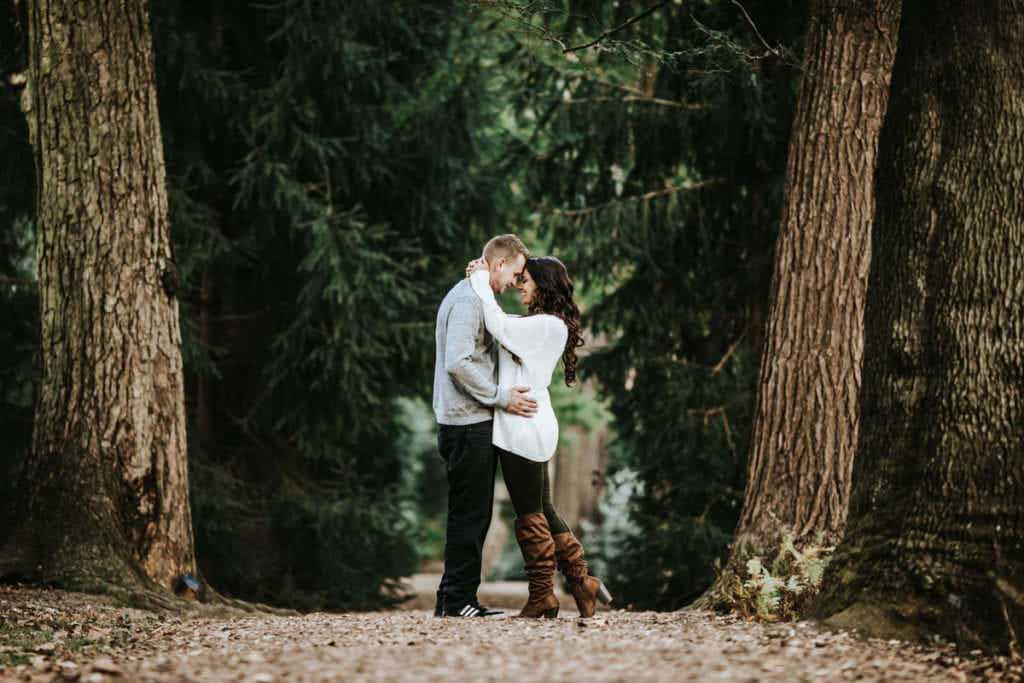 Longwood Gardens Engagement Photos