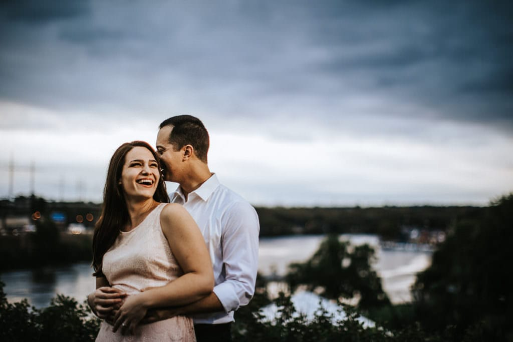 art museum engagement photos