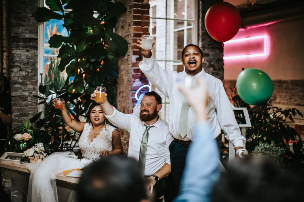 Center city wedding photos