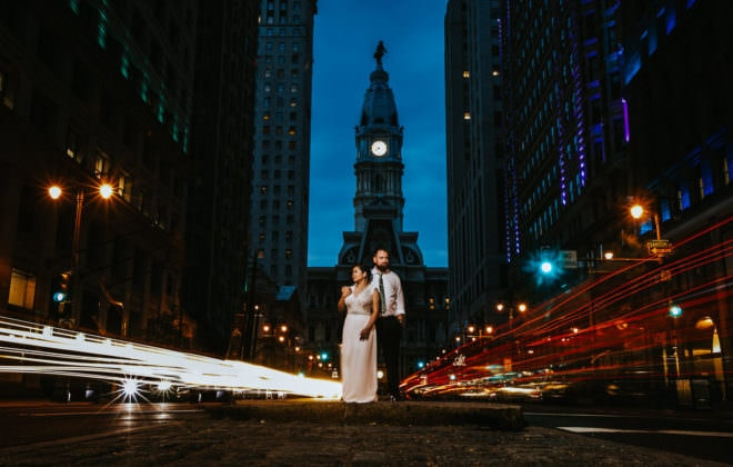 Center city wedding photos