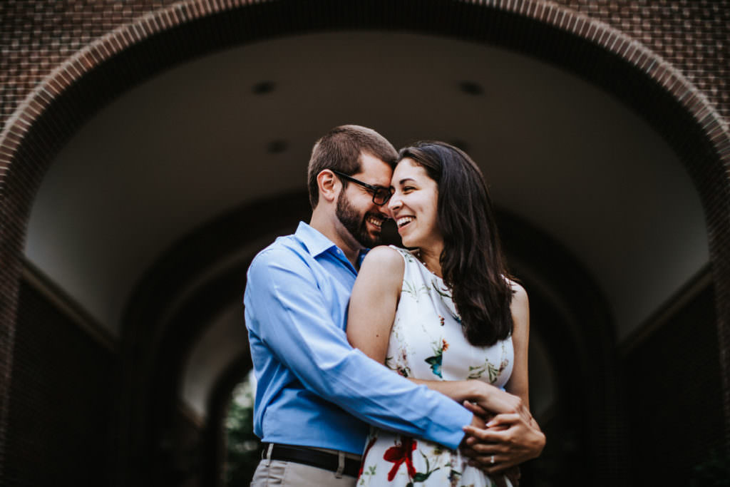 the college of new jersey engagement photos