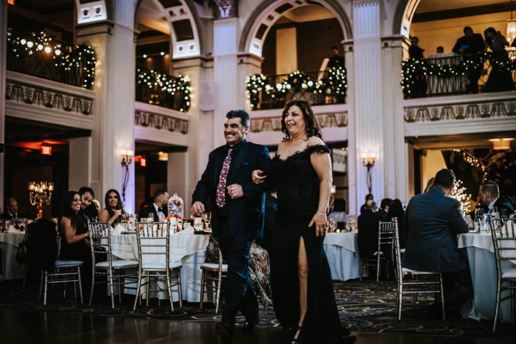 Ballroom at the Ben wedding, Angelia and Brett | Ballroom at the Ben