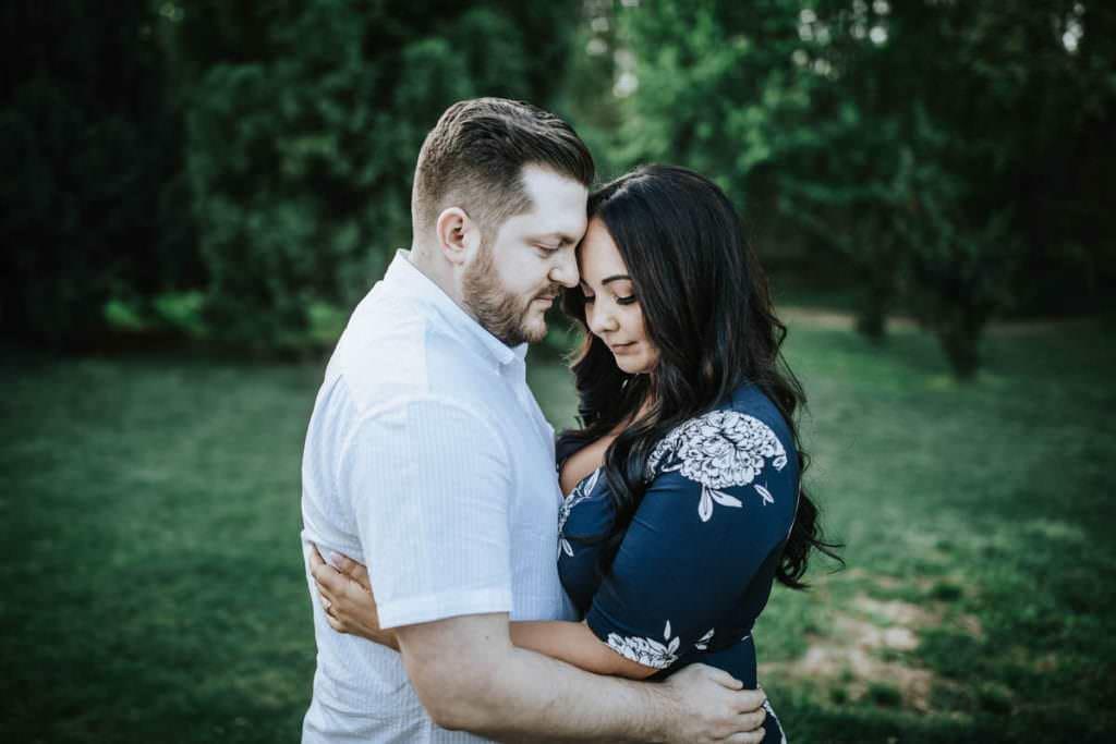 Sayan Gardens engagement photos, Natalie and Tyler | Sayen Gardens Engagement Photos