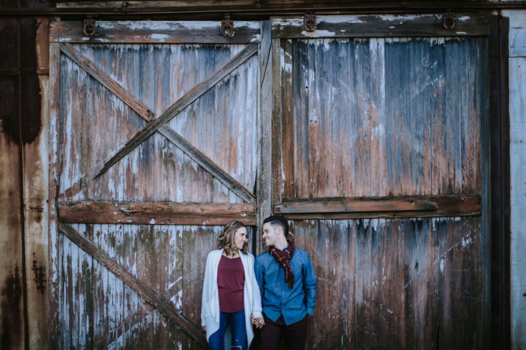 laurita winery engagement photos