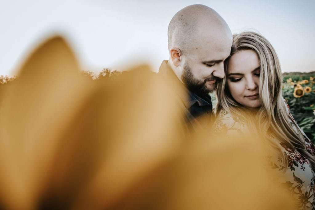 Johnson's Locust Hall Farm engagement photos