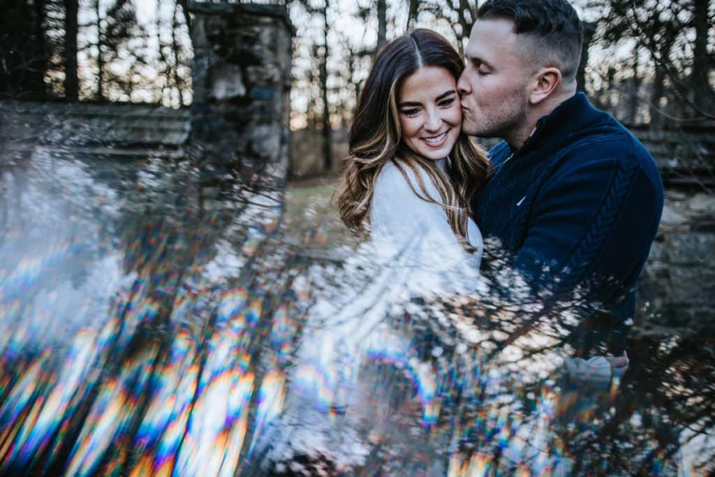 Ridley Creek State Park Engagement Photos