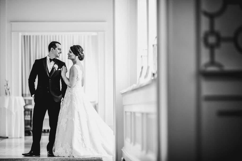 Ballroom at Ellis Preserve wedding photographer