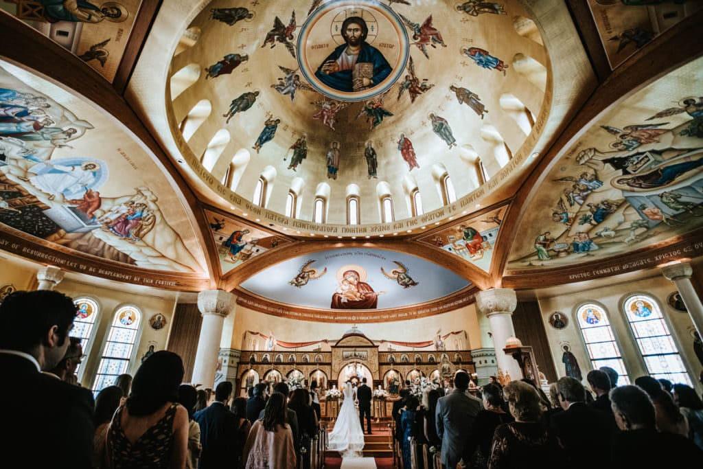 ballroom at the ben wedding photographer