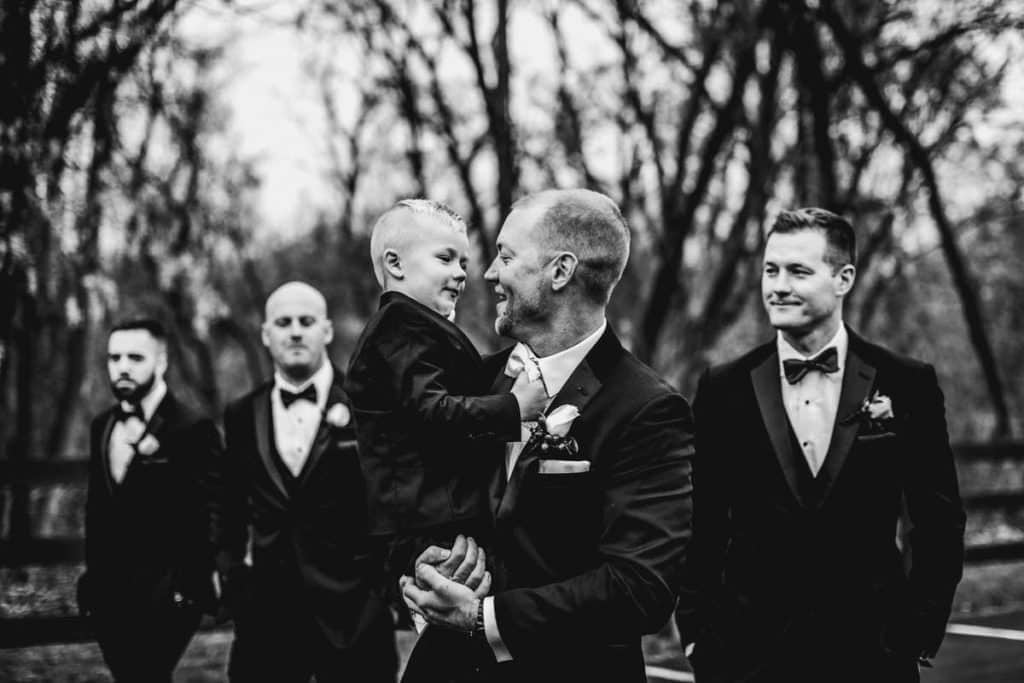 Hamilton Manor wedding bridal party
