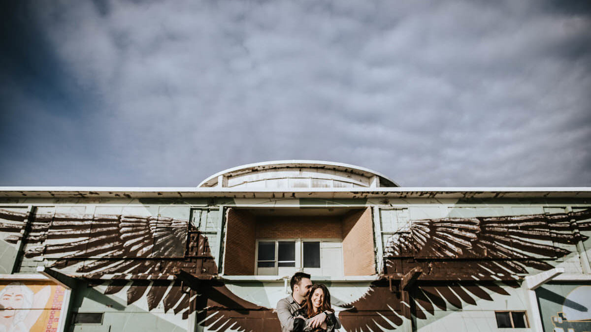 Asbury Park engagement photos