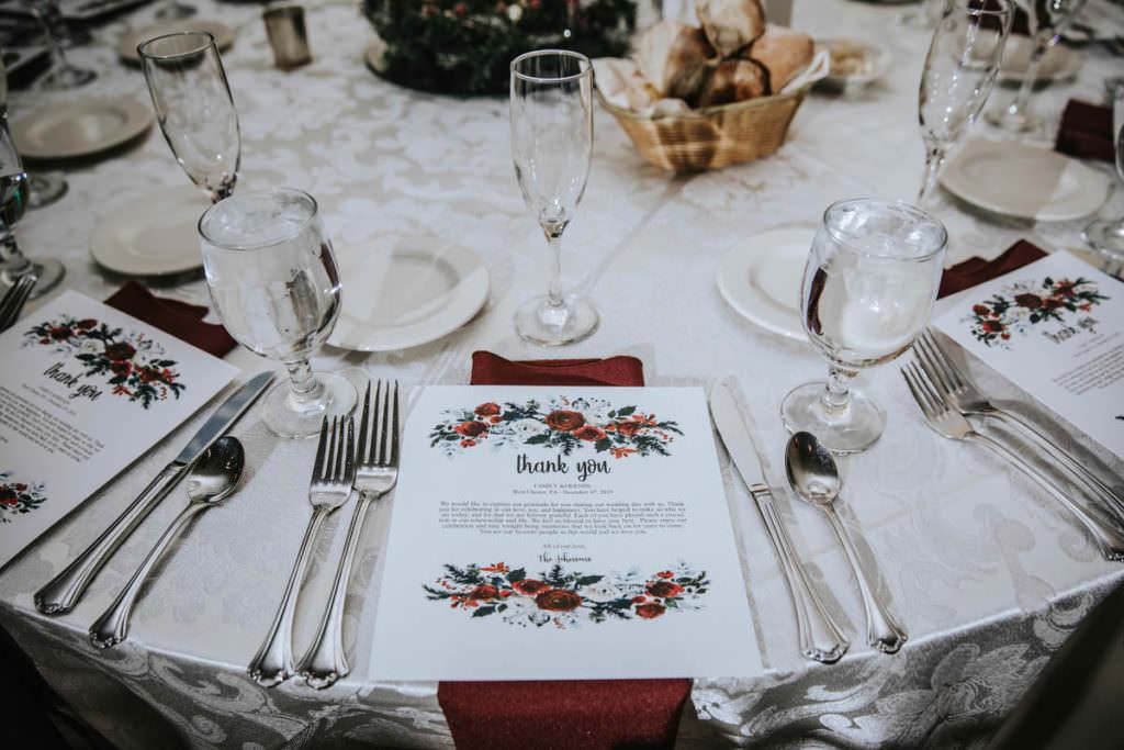 Penn Oaks reception details