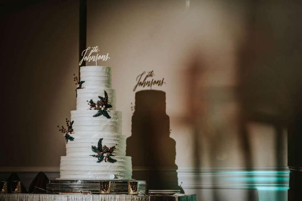 Masters Baker wedding cake
