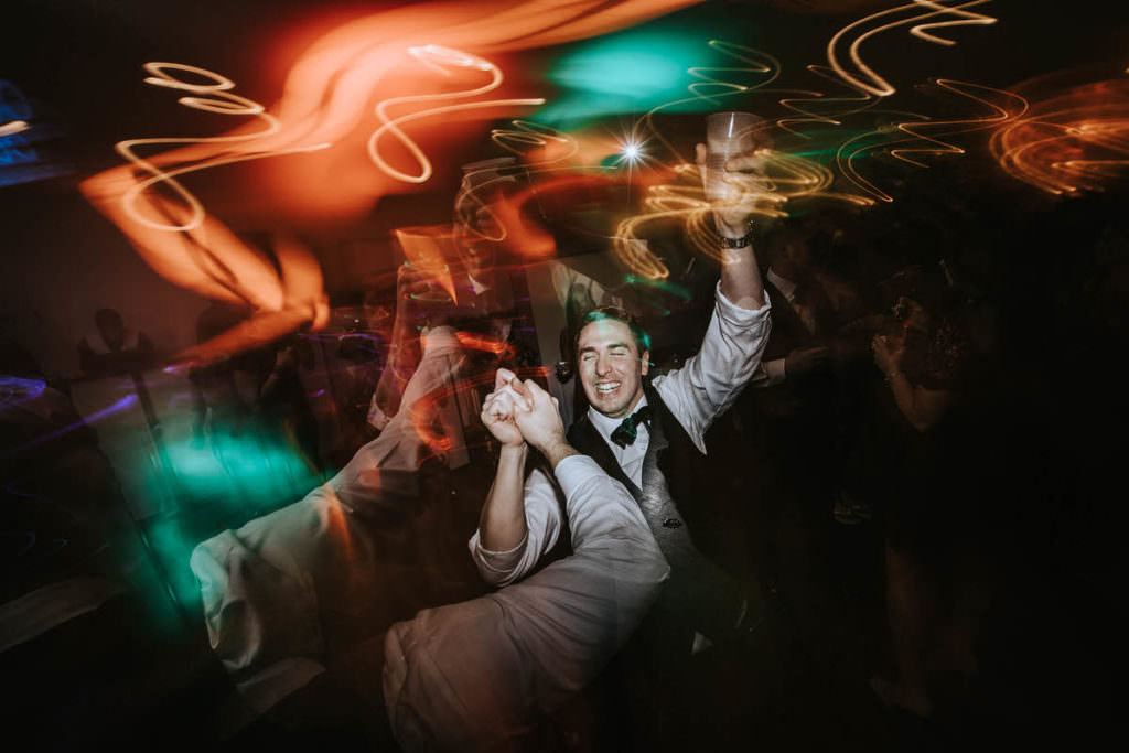 Penn Oaks reception wedding photos