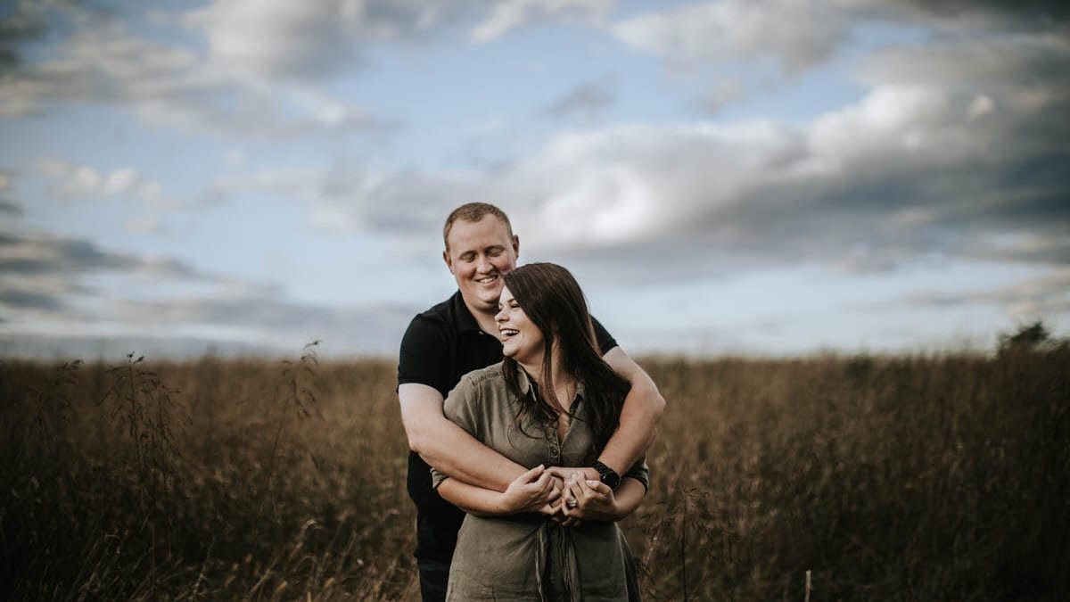 fall engagement photos, Fall Engagement Session | Becca and Brandon