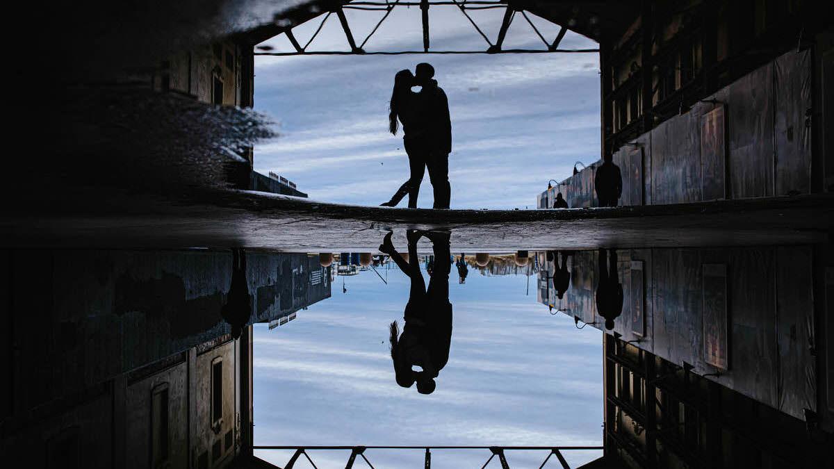 Inverted photo