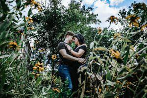 Allaire state park engagement photos