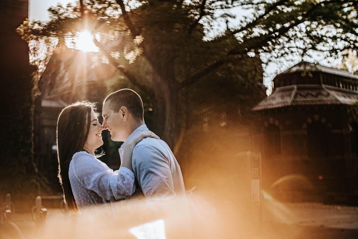 Princeton University engagement photos