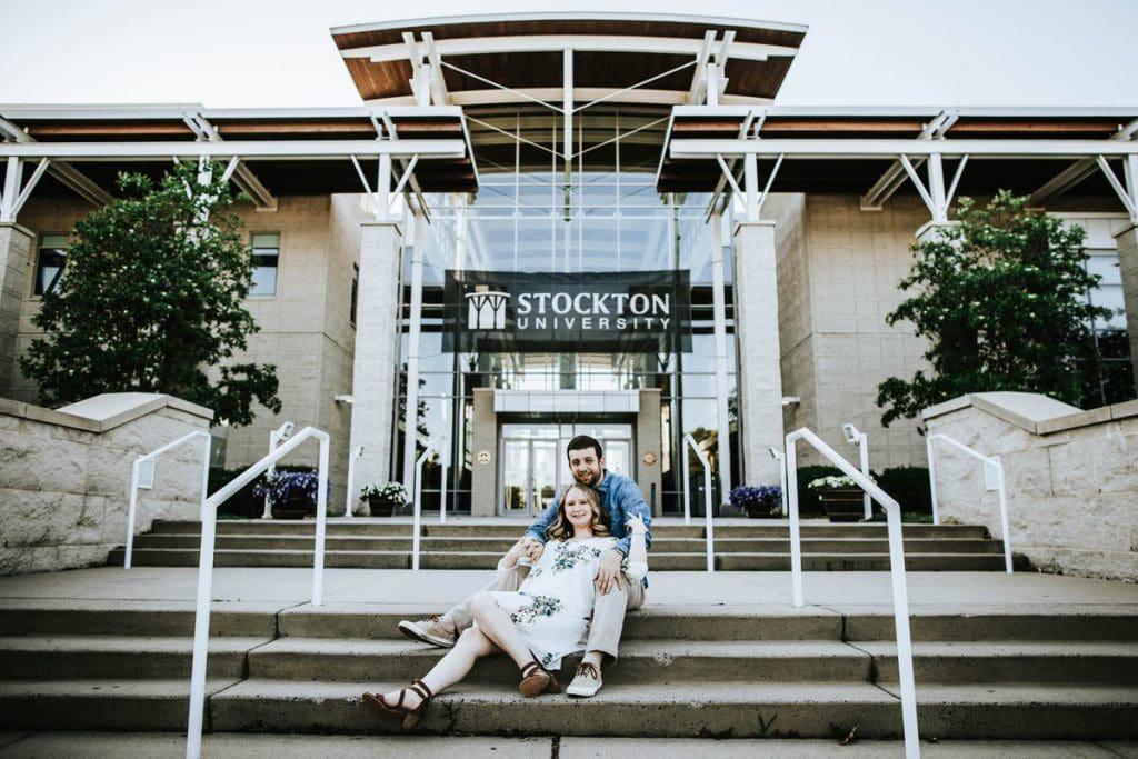 Stockton University Engagement Photos