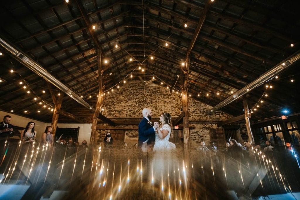 new jersey rustic wedding photo