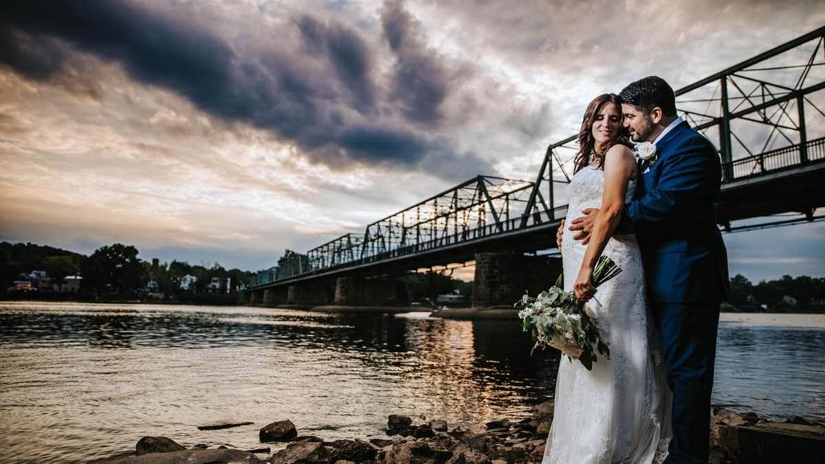 lambertville train station wedding