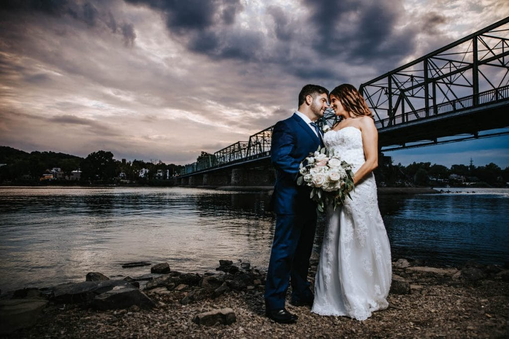 lambertville train station wedding