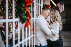 Historic smithville engagement photos
