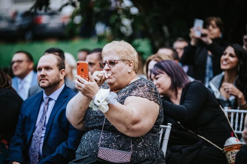 Philadelphia quartett club wedding photographer