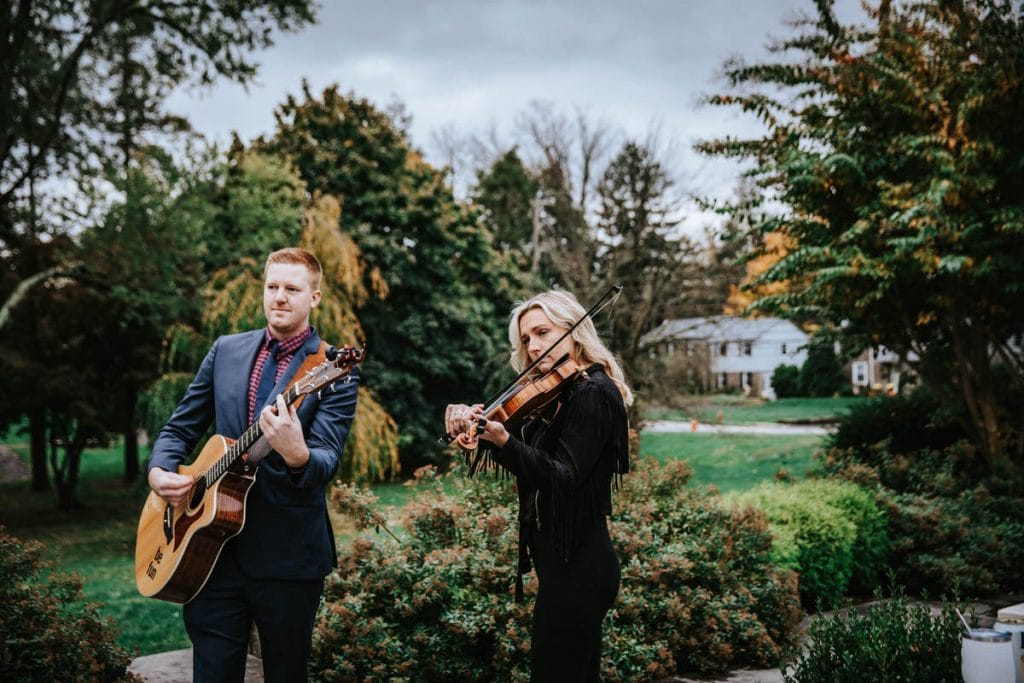 Philadelphia quartet club wedding photographer