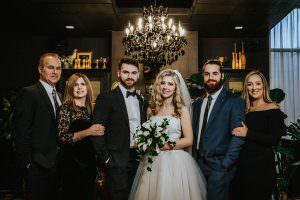 bridal party wedding photos