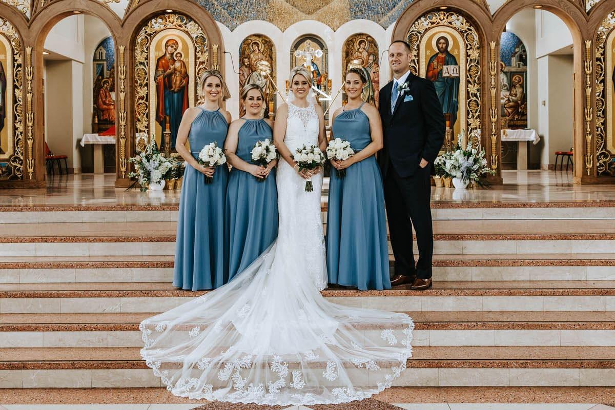 Philadelphia Ukrainian Church Wedding Photos